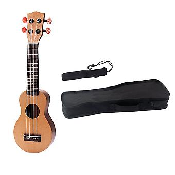 17inch Ukulele Mini Travel Guitar Sealed Machine Head 4 String Guitar