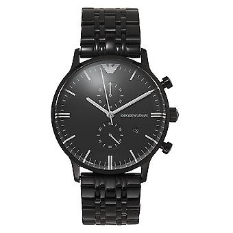 Armani Ar1934 Black Stainless Steel Mens Watch