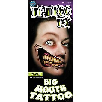 Tinsley Transfère Big Mouth Tattoos (2 Faced)