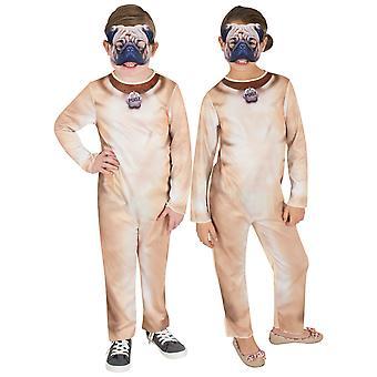 Pug Puppy Dog Animal Pet Book Week Unisex Girls Boys Costume