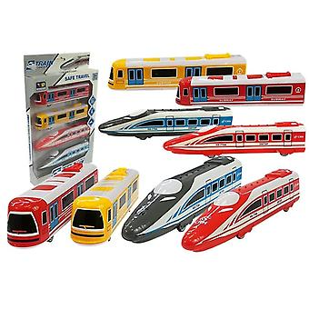 Toy train set - 4 toy trains