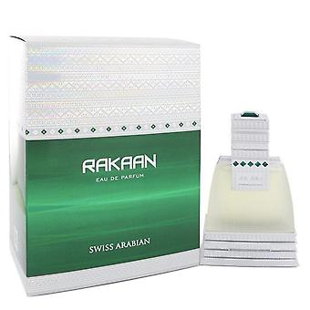 Swiss Arabian Rakaan Eau De Parfum Spray por Swiss Arabian 1.7 oz Eau De Parfum Spray