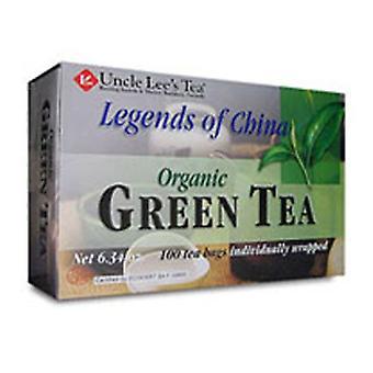 Uncle Lees Teas Organic Green Tea, 100 Bags