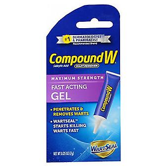 Compound W Wart Remover Fast-Acting Gel, 0.25 oz