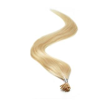 American Pride I-TIP Human Hair Extensions 18 Inch - Starlight Blonde
