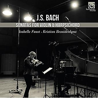 Bach / Faust, Isabelle - Sonatas for Violin & Harpsichord [CD] USA import