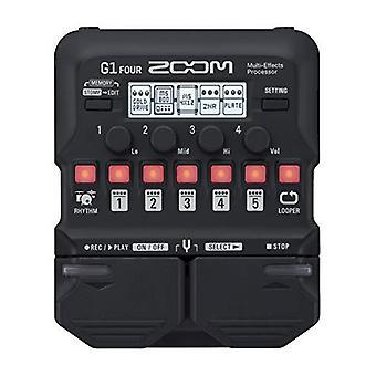Zoom guitarra elétrica multi efeito g1 quatro
