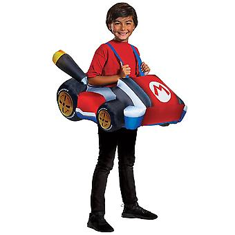 Boy's Mario Kart Inflatable Costume