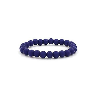 Silicon Rubber 9mm Bead Bracelets