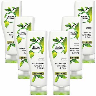 Herbal Essences Natural Moisture Conditioner Detox Volume Pack of 6, 400ml