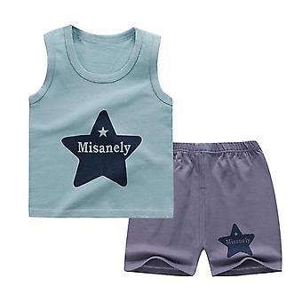 Vauvan pehmeä shortsipuku T-paita Sodder Kids Stuff