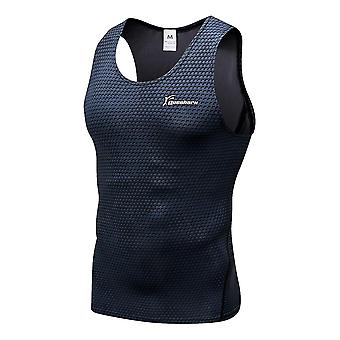 Compression Running Vest Gym Fitness Sleeveless Training Tank Tops Musculation