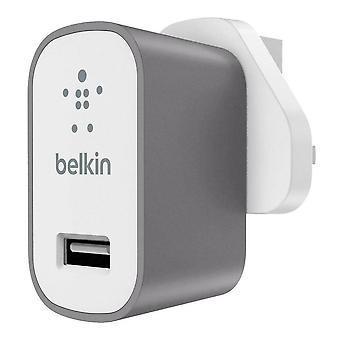 Belkin Premium Universal Fast 2.4A Mains Charger for iPhone Smartphone Tablets