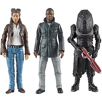 Doctor Who F&F 13th Doctor Action Figures Set 3-pakkaus