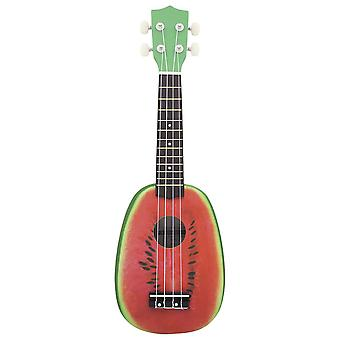 21inch Ukelele String Instruments 4 String Guitar Mini Guitar Red Watermelon