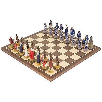 King Arthur handbemalt Themen Schachspiel von Italfama