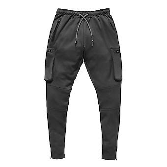 Hommes Fitness Casual Elastic Pants Bodybuilding Clothing Casual Joggers