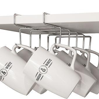 Under Shelf Cabinet Mug Rack | M&W Large