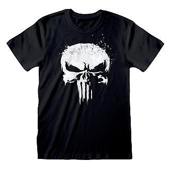 The Punisher Unisex Adult Logo T-Shirt