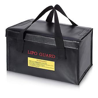 Lipo väska brandsäker batteriväska idealisk för laddning av brandsäkra lipobatterier (storlek cm 260x 130 x 150)