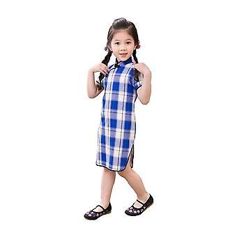 Qipao chinesische Neujahr Cheongsam Mädchen Kleid - Stil 5, Kleinkind