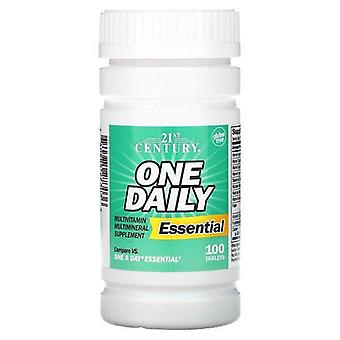 21st Century, One Daily, Essential, 100 Tablets