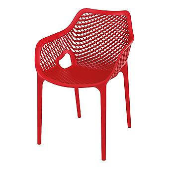 Fusion Living Modern Retro Style Stackable Armchair In Various Colours