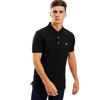 Lyle & Scott Plain Polo Shirt - Jet Black
