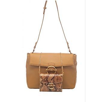 Liu-jo Crossbody S Shoulder Bag With Beige Clutch Bs21lj61 Aa1161