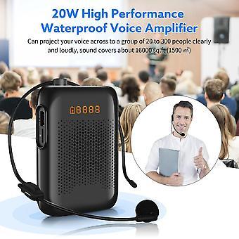 20w Wired Mini Audio Lautsprecher Tragbarer Sprachverstärker natürlicher Stereo-Sound