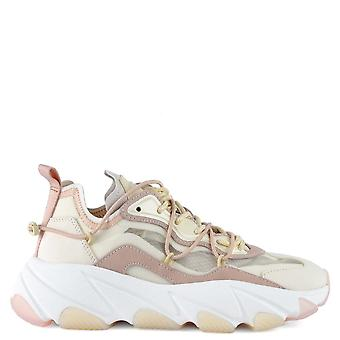 Ash EXTRA BIS Transparent Trainers Off-white And Pink