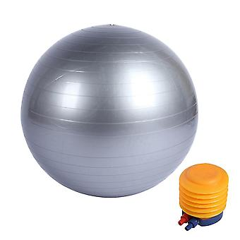 Fitness ball belt pump, explosion-proof thick yoga ball, yoga balance and stability ball, fitness exercise and delivery ball