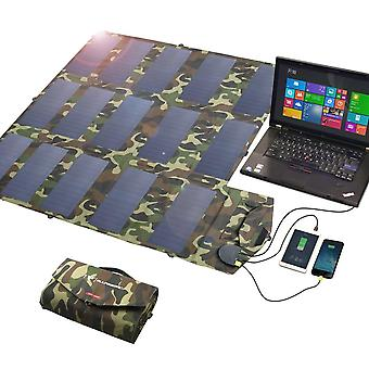 Portable Solar Panel, Foldable Battery Charger For Laptop, Mobile Phone