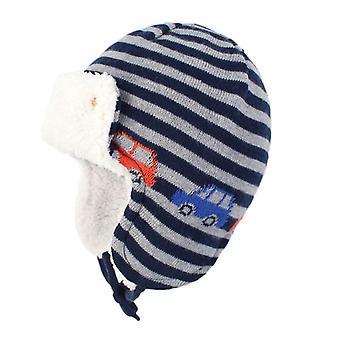 Winter Ohr Schützende Baumwolle gestrickt Jacquard Hut