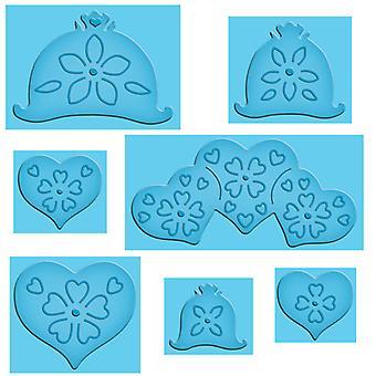 Spellbinders Cutting Dies - Hearts And Flowers