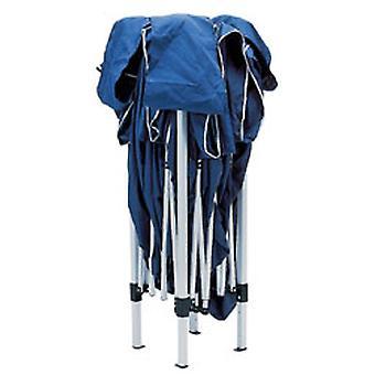 Draper 76940 3m x 3m Blue Concertina Gazebo