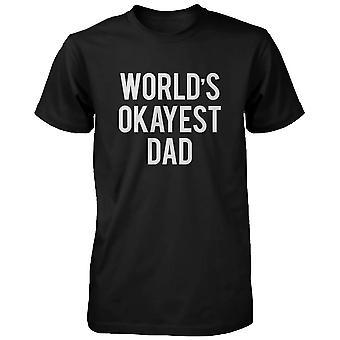 Men's Graphic Statement Schwarzes T-shirt -