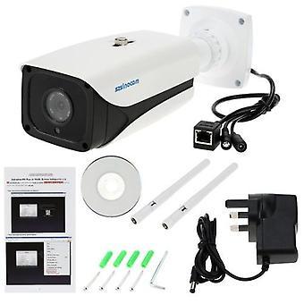 szsinocam HD Megapixels 720P 2.4G / 5.8G Langaton Wifi-kamera + 8G TF-kortti CCTV Valvonta Valvonta P2P-verkko IP-pilvi Sisäilman luotikameran tuki Onvif2.4 Säänkestävä IR-CUT-suodatin Infrapuna Night Vision Motion Detection Email Alarm Android /iO