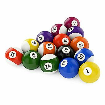 "16pcs Spots & Stripes 2"" Inch Pool Tables Balls Set"