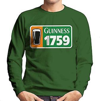 Guinness 1759 Irish Flag Men's Sweatshirt