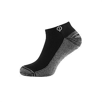 Oscar Jacobson Mens Cut Sock 2 Pack Elasticated Ribbed Top Confort