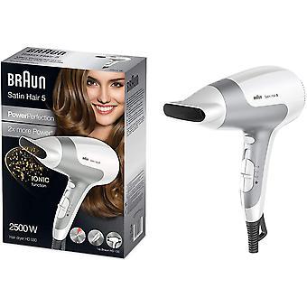 FengChun Satin Hair 5 Power Perfection Haartrockner HD 580, mit IonTec, 2500 Watt