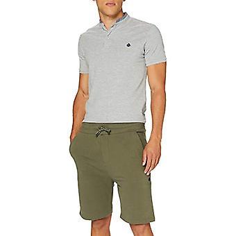 Springfield 3fr Bermuda Terry 320 Gsm-c/26 T-Shirt, Green (Green 26), X-Large Men