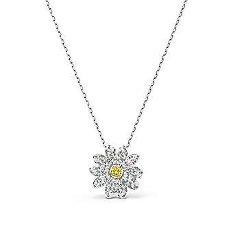 سواروفسكي قلادة زهرة الأبدية، الأصفر، مزيج الطلاء