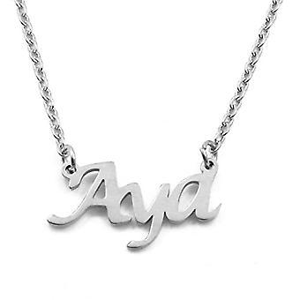 KL Kigu Aya - Naisten kaulakoru, nimi, hopea