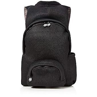 MorikukkoMorikukko Hooded Backpack Airnet BlackUnisex - AdultZainiMulticolore (Airnet Black)33x8x40 Centimeters (W x H x L)