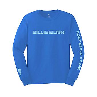 Billie Eilish T Shirt Dont Smile at Me Logo new Official Long Sleeve Unisex