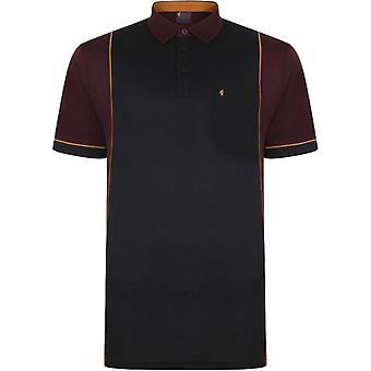GABICCI Gabicci Mens Big Size Cotton Panel Sports Short Sleeve Polo