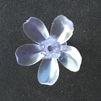 Soft Plastic Transparent Cherry Blossom Flower For Decoration Light