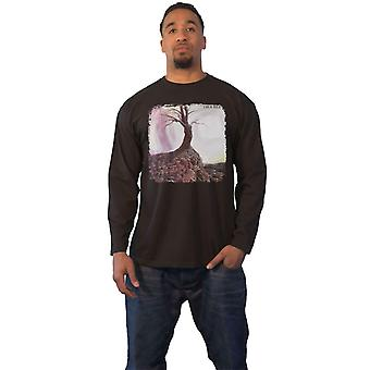 Trouble T Shirt Band Logo new Official Mens Black Long Sleeve